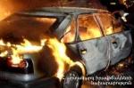 Մասիս քաղաքի կայարանի մոտ ավտոմեքենա է այրվել. կա տուժած
