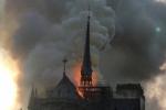 Փարիզի Աստվածամոր տաճարում ուժգին հրդեհ է բռնկվել (տեսանյութ)