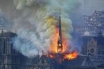 Փարիզի Աստվածամոր տաճարը հրդեհից հետո