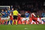 «Арсенал» обыграл «Наполи» и вышел в полуфинал Лиги Европы (видео)