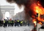 Բախումներ՝ Փարիզում․ կա մոտ 200 ձերբկալված և 2 տուժած (տեսանյութ)