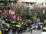 Լարված իրավիճակ Թբիլիսիում․ Թուրքիայի դեսպանատան առջև տոնական միջոցառում՝ «Պահանջում և հատուցում» ակցիայի ֆոնին (տեսանյութ)