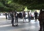 Կառավարության շենքի մոտ բողոքի ակցիա են իրականացնում շարժական սրճարանների աշխատակիցները (տեսանյութ)