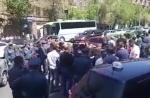 ՀՀ հպարտ տաքսիստները փողոց են փակել (տեսանյութ)