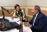 Նիկոլ Փաշինյանն այցելել է Հանրային ռադիո․ դռան նորոգման արարողություն (տեսանյութ)