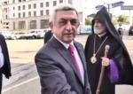 Սերժ Սարգսյանն Արցախում է (տեսանյութ)