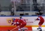 Պուտինը հոկեյի խաղի ժամանակ ընկել է սառույցի վրա
