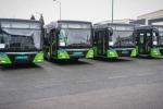 Թբիլիսիի փողոցներում սկսել են երթևեկել նոր 10-մետրանոց ավտոբուսներ