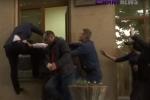 Դատավոր Դավիթ Բալայանը փորձեց պատուհանից մտնել դատարան (տեսանյութ)