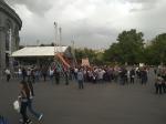 Մեր «հեղափոխական» իշխանությունների «երիտասարդ գվարդիան» այսօր Ազատության հրապարակը ողողել էր