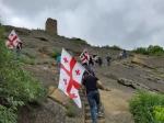 «Ադրբեջանը օկուպացրել է մեր տարածքները». վրացի ակտիվիստները Դավիթ Գարեջիում (լուսանկարներ)