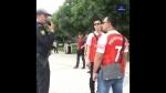 Ադրբեջանական ոստիկանությունը բերման է ենթարկել Մխիթարյանի անունը կրող մարզաշապիկներով Բաքվում շրջող թայլանդացիների (տեսանյութ)