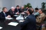 Արցախի ՊԲ հրամանատարն ընդունել է ԵԱՀԿ Մինսկի խմբի համանախագահներին