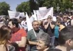 «Ալեն Սիմոնյան, սիկ...»․ ցուցարարները փակել էին փողոցը․ 18+