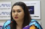 «Բավական է Հենրիխ Մխիթարյանի մի այց Բաքու, որ ցույց տա՝ Ադրբեջանը չի պատրաստվում խաղաղության, Ադրբեջանը պատրաստվում է պատերազմի». Անժելա Էլիբեգովա (տեսանյութ)