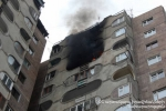 Նիկողայոս Տիգրանյան փողոցի շենքերից մեկի բնակարանի հրդեհի հետևանքով երկու մանկահասակ երեխա ծխահարվել է