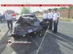 Աշտարակ-Գյումրի ճանապարհին բախվել են Mercedes Sprinter-ն ու Lada-ն. կա 6 վիրավոր