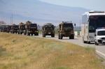 Թուրքական զորքն ու ռազմատեխնիկան ժամանել են Նախիջևան` զորավարժությունների անցկացման համար (տեսանյութ)