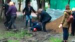 Օմսկի քաղաքապետն ընկել է ջրափոսը