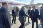 Փաշինյանը ժամանեց Սանկտ Պետերբուրգ (տեսանյութ, լուսանկար)
