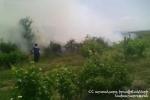 Մուսալեռ գյուղում 7 հա խոտածածկույթ է այրվել