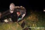 Ավանում մեքենան հայտնվել է գերեզմանատան տարածքում և կողաշրջվել