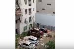 ԱՄՆ-ում շինարարական ամբարձիչն ընկել է բազմահարկ շենքի վրա. կա զոհ (տեսանյութ)