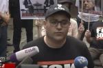 Акция движения ВЕТО перед офисом армянского фонда Сороса (прямой эфир)