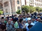 Կոնդի բնակիչները բողոքի ակցիա են իրականացնում կառավարության շենքի դիմաց. ուղիղ