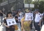 Բողոքի ակցիա ԱԺ-ի դիմաց՝ Վահե Գրիգորյանի՝ ՍԴ անդամ դառնալու դեմ (տեսանյութ)