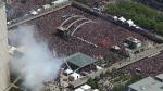 Во время чемпионского парада «Торонто Рэпторс» открыли стрельбу (видео)