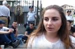 Члены движения «Сигнал тревоги» продолжают сидячий пикет у здания НС