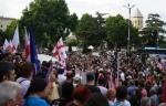 Թբիլիսիում վերսկսվել են բողոքի ակցիաները (տեսանյութ)