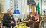 Король Саудовской Аравии встретился с Майклом Помпео