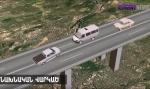 Компьютерная модель аварии трагического ДТП в Араратском марзе (видео)