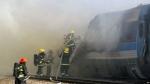 На поезде Баку-Тбилиси начался пожар
