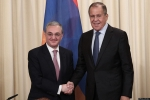 Зограб Мнацаканян и Сергей Лавров обсудили карабахское урегулирование