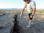 Կալիֆոռնիայի երկրաշարժից առաջացած բեկվածքը երևում է տիեզերքից (լուսանկար)