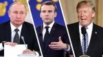 Макрон анонсировал переговоры с Путиным и Трампом по ситуации в Иране