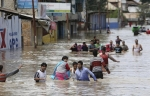 Наводнение в Индии оставило без крова более 3 млн человек