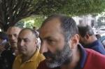 «Նիկո՛լ, իջի՛», «Քա՛յլ արա, ջո՛ւր տուր». ակցիա կառավարության մոտ (տեսանյութ)